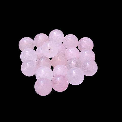 Perle Quartz rose 8 mm