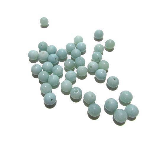Perle ronde Amazonite 10 mm